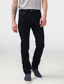 ARMANI EXCHANGE Yarn-Dye Black Slim-Fit Jean Slim fit JEANS U f