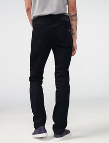 ARMANI EXCHANGE Yarn-Dye Black Slim-Fit Jean Slim Fit Denim U r