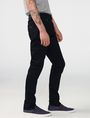 ARMANI EXCHANGE Yarn-Dye Black Slim-Fit Jean Slim fit JEANS Man d