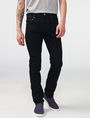 ARMANI EXCHANGE Yarn-Dye Black Slim-Fit Jean Slim fit JEANS Man f