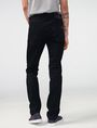 ARMANI EXCHANGE Yarn-Dye Black Slim-Fit Jean Slim fit JEANS Man r