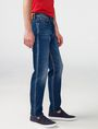 ARMANI EXCHANGE Straight-Leg Whiskered Jean Straight Fit Denim U d
