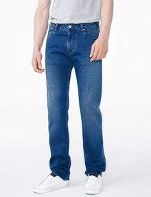 ARMANI EXCHANGE Relaxed Straight-Leg Jean Relaxed Fit Denim U f