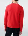 ARMANI EXCHANGE Tonal Stripe Logo Crew Crew Neck [*** pickupInStoreShippingNotGuaranteed_info ***] r