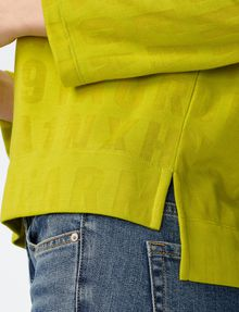 ARMANI EXCHANGE Burnout Logo Sweatshirt Top Sweatshirt D e