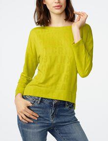ARMANI EXCHANGE Burnout Logo Sweatshirt Top Sweatshirt D f