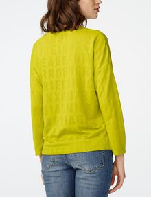 ARMANI EXCHANGE Burnout Logo Sweatshirt Top Sweatshirt D r