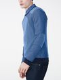 ARMANI EXCHANGE Bicolor Stitch Crew Crew Neck U d