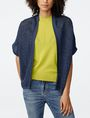 ARMANI EXCHANGE Short-Sleeve Dolman Wrap Cardigan D f