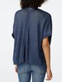 ARMANI EXCHANGE Short-Sleeve Dolman Wrap Cardigan D r