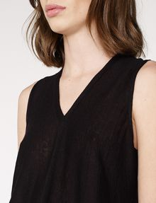 ARMANI EXCHANGE Seamed V-Neck Tank Shell D e