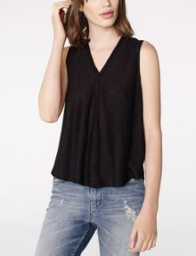 ARMANI EXCHANGE Seamed V-Neck Tank Shell D f