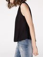 ARMANI EXCHANGE Seamed V-Neck Tank Shell D d