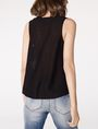 ARMANI EXCHANGE Seamed V-Neck Tank Shell D r