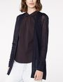ARMANI EXCHANGE Knife-Pleat Cardigan Cardigan Woman f