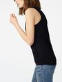 ARMANI EXCHANGE Multi-Stitch Sweater Tank Tank top D d