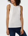 ARMANI EXCHANGE Multi-Stitch Sweater Tank Tank top D f