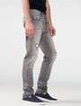 ARMANI EXCHANGE Distressed Grey Slim-Fit Jean Slim Fit Denim U d