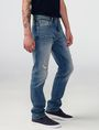 ARMANI EXCHANGE Distressed Slim-Fit Jean Slim Fit Denim U d