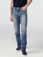 ARMANI EXCHANGE Distressed Slim-Fit Jean Slim Fit Denim U f