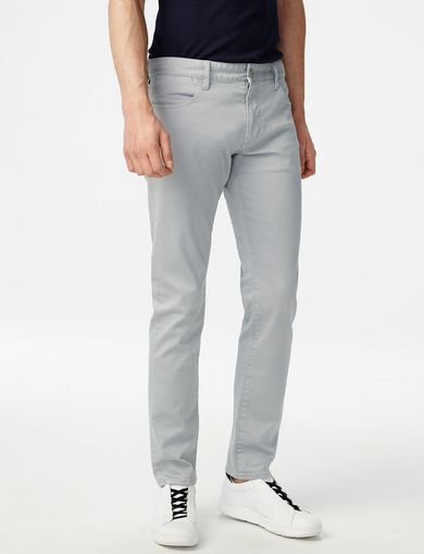 ARMANI EXCHANGE Slim Garment-Dyed Jean Man front