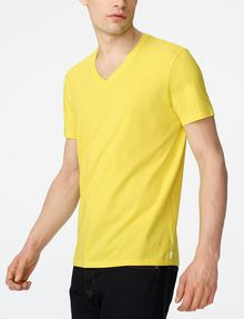 ARMANI EXCHANGE Pima V-Neck Tee Short Sleeve Tee Man d