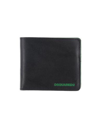 DSQUARED2 メンズ 財布 グリーン 革