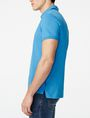 ARMANI EXCHANGE Contrast Placket Pique Polo SHORT SLEEVES POLO U d