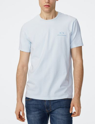 ARMANI EXCHANGE Signature A|X Crew Man front