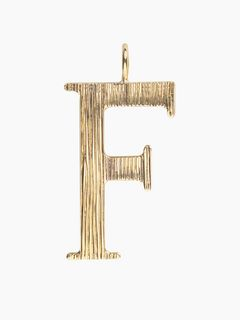 Alphabet bag pendant<span>F - Alphabet bag pendant</span>