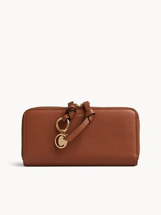 Alphabet long wallet