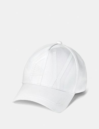 ARMANI EXCHANGE Graphic Tonal Logo Cap Man front