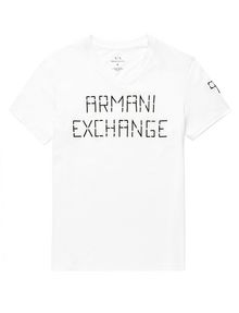 ARMANI EXCHANGE 91 Scoreboard Tee Graphic T-shirt Man d