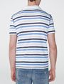 ARMANI EXCHANGE Modern Stripe Polo Shirt Short-sleeved polo U r