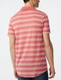 ARMANI EXCHANGE Multi-Stripe Polo SHORT SLEEVES POLO Man r