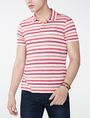 ARMANI EXCHANGE Modern Stripe Polo Shirt SHORT SLEEVES POLO Man f