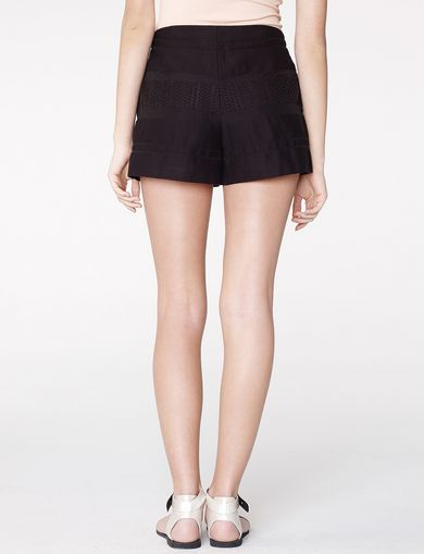 ARMANI EXCHANGE Textured Stripe Short Woman retro