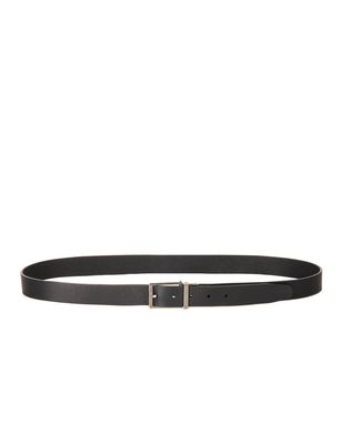 TWO LEATHER REVERSIBLE BELT