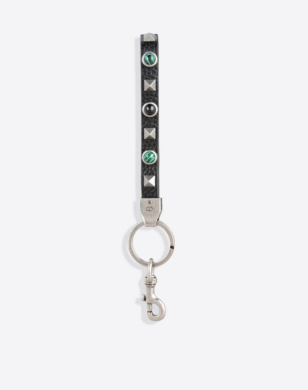 Rockstud Rolling Key Ring
