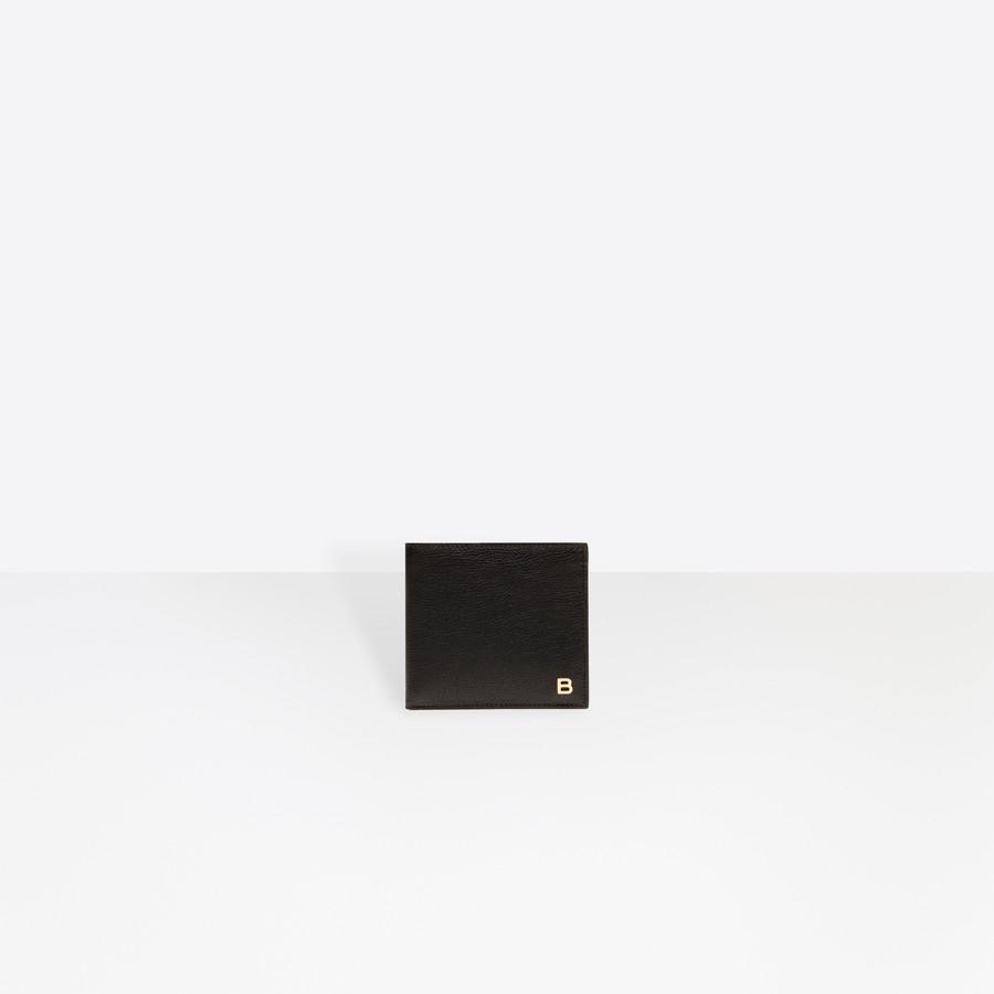 BALENCIAGA B-Line Square Wallet B Line Accessories U f