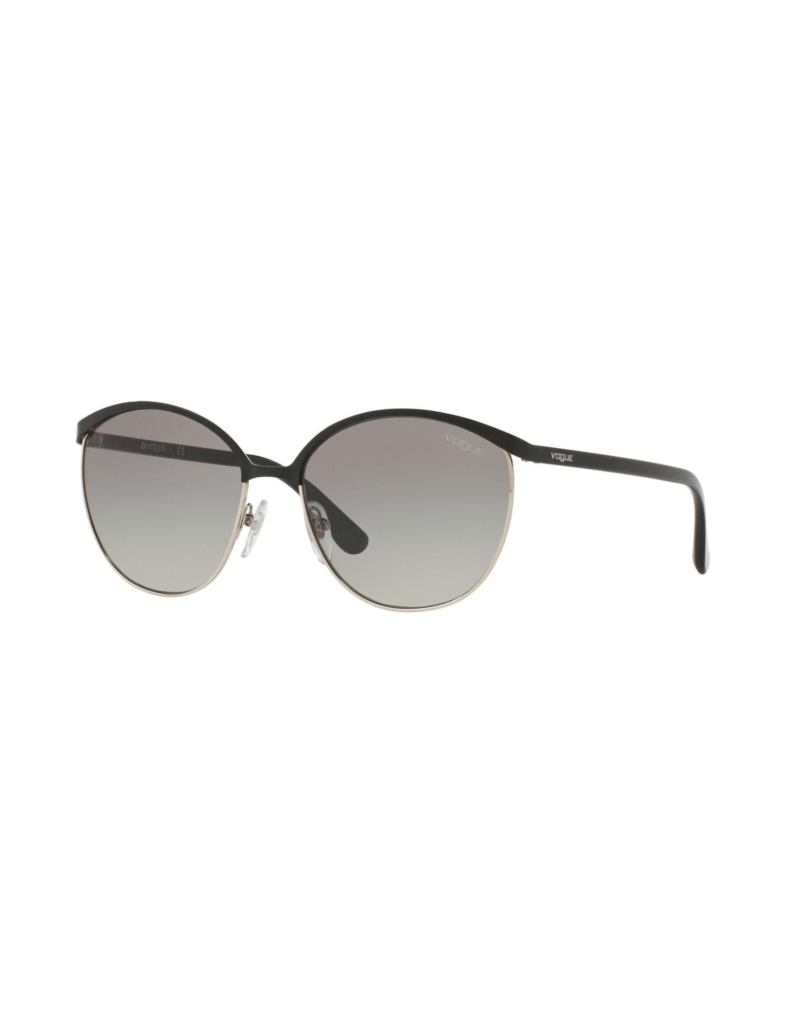 VOGUE Солнечные очки vogue vogel очки черного кадра серебряного покрытия линза мода полной оправе очки vo5067sd w44s6g 56мм