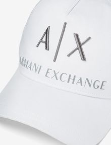 ARMANI EXCHANGE CORPORATE LOGO HAT Hat Man d