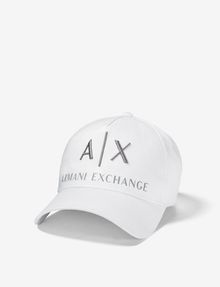 ARMANI EXCHANGE CORPORATE LOGO HAT Hat Man f