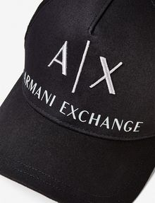 ARMANI EXCHANGE CORPORATE LOGO HAT Hat [*** pickupInStoreShippingNotGuaranteed_info ***] d