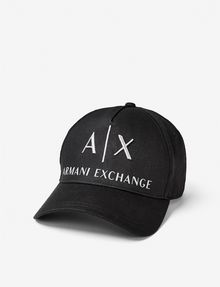 ARMANI EXCHANGE CORPORATE LOGO HAT Hat [*** pickupInStoreShippingNotGuaranteed_info ***] f