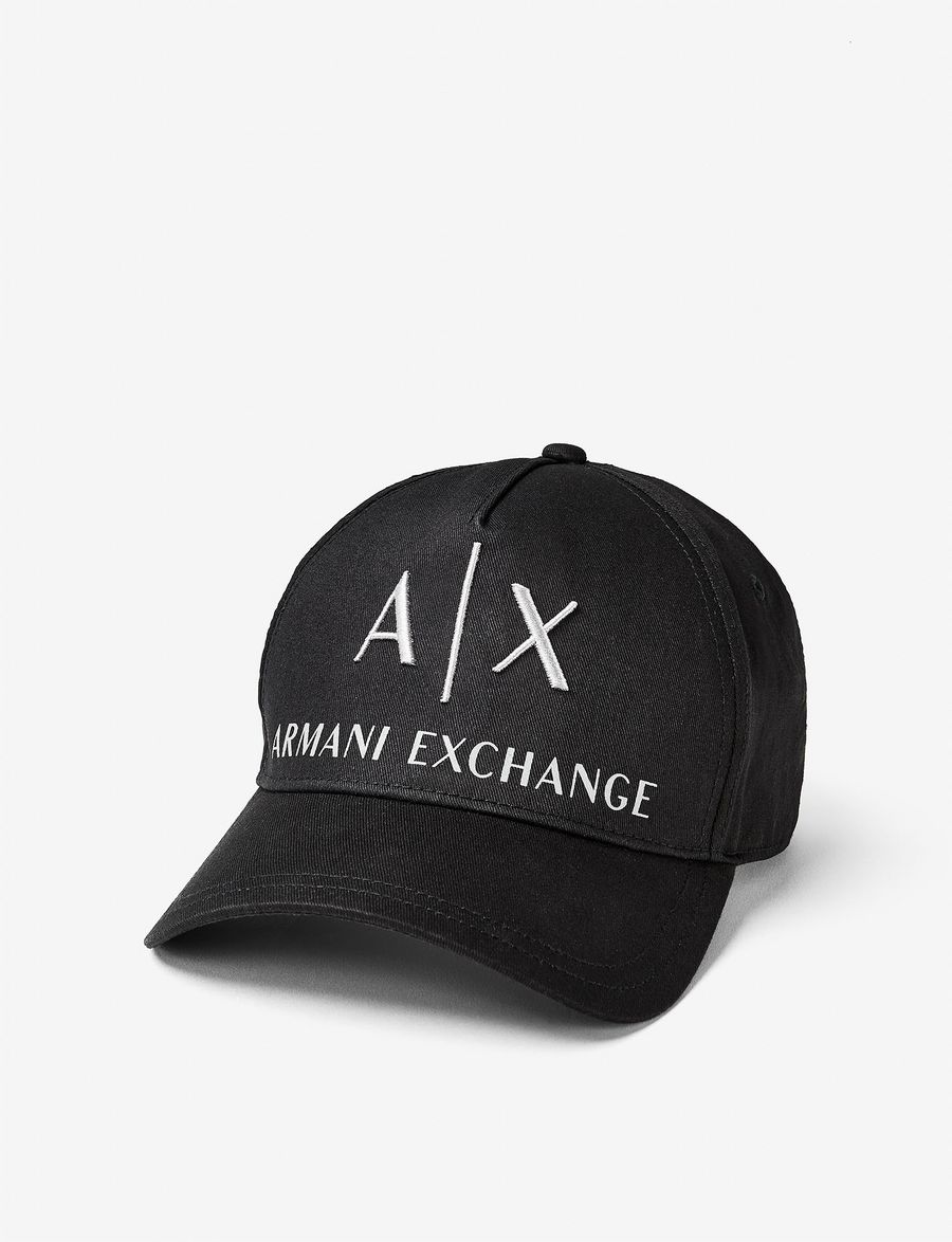 Armani Exchange CORPORATE LOGO HAT  8515e86963d