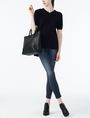 ARMANI EXCHANGE V-NECK TUNIC SWEATER Pullover Woman a