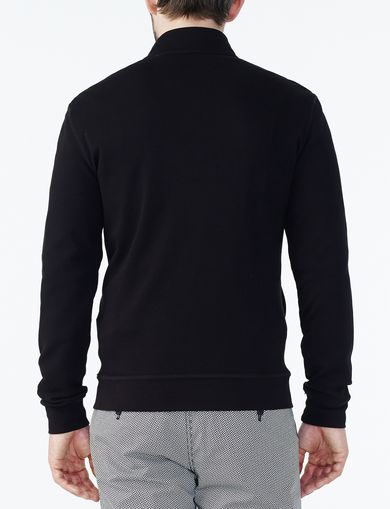 ARMANI EXCHANGE SIGNATURE LOGO MOCKNECK Man retro