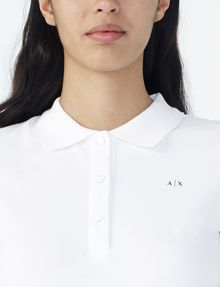 ARMANI EXCHANGE BRANDED PIQUE POLO Polo D e