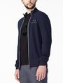 ARMANI EXCHANGE SIGNATURE LOGO MOCKNECK Fleece Jacket U d